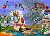 Alfredo, CUTE ANIMALS, puzzle, paintings(BRTO50975,#AC#) illustrations, pinturas, rompe cabeza
