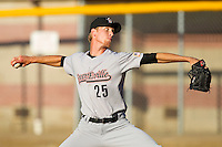 Michael Foltynewicz #25 of the Greeneville Astros in action against the against the Bristol White Sox at Boyce Cox Field July 2, 2010, in Bristol, Tennessee.  Photo by Brian Westerholt / Four Seam Images