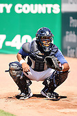 June 14th 2008:  Angel Flores of the West Michigan Whitecaps, Class-A affiliate of the Detroit Tigers, during a game at Fifth Third Ballpark in Comstock Park, MI.  Photo by:  Mike Janes/Four Seam Images
