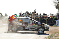 Thierry Neuville (BEL) and Nicolas Gilsoul (BEL), Ford Fiesta RS WRC of QATAR M-SPORT WORLD RALY TEAM during WRC Fafe Rally Sprint 2013, in Fafe, Portugal on April 6, 2013(Photo Credits: Paulo Oliveira/DPI/NortePhoto)