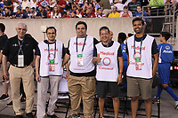 PHILADELPHIA, PENNSYLVANIA - JUNE 30: Medical staff during the 2019 CONCACAF Gold Cup quarterfinal match between the United States and Curacao at Lincoln Financial Field on June 30, 2019 in Philadelphia, Pennsylvania.