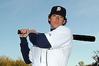 Feb 21, 2009; Lakeland, FL, USA; The Detroit Tigers infielder Will Rhymes (66) during photoday at Tigertown. Mandatory Credit: Tomasso De Rosa/ Four Seam Images