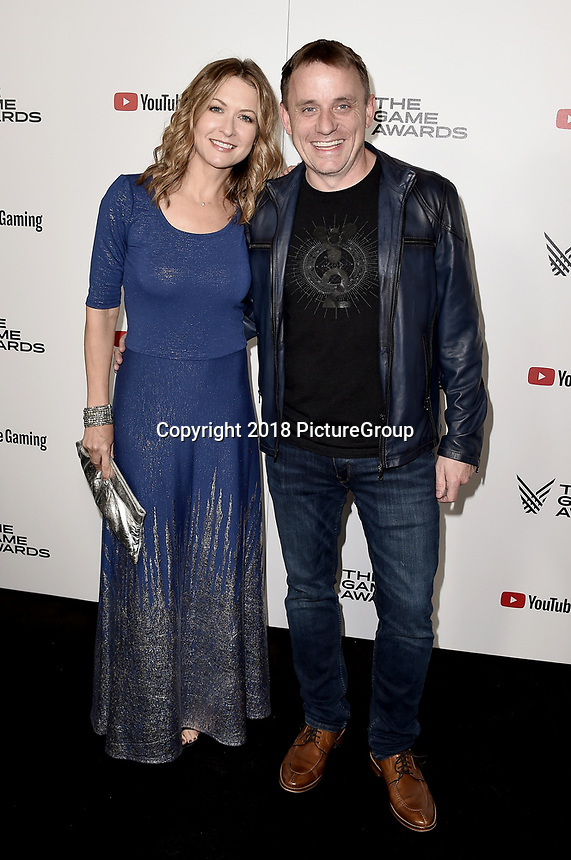 LOS ANGELES - DECEMBER 6: Ali Hillis and Steve Cotton attend the 2018 Game Awards at the Microsoft Theater on December 6, 2018 in Los Angeles, California. (Photo by Scott Kirkland/PictureGroup)