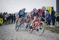 John DEGENKOLB (DEU/Trek-Segafredo)<br /> <br /> 117th Paris-Roubaix 2019 (1.UWT)<br /> One day race from Compiègne to Roubaix (FRA/257km)<br /> <br /> ©kramon