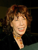 Lily Tomlin responds to a reporter's question as she arrives for the eighth annual Mark Twain Prize for American Humor, which is being awarded this year to Steve Martin at the John F. Kennedy Center for the Performing Arts in Washington, D.C. on October 23, 2005..Credit: Ron Sachs / CNP