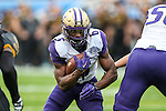 Washington Huskies fullback Deontae Cooper (6) in action during the Zaxby's Heart of Dallas Bowl game between the Washington Huskies and the Southern Miss Golden Eagles at the Cotton Bowl Stadium in Dallas, Texas.