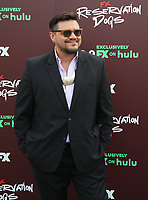 """TULSA, OK - AUGUST 2: Co-Creator/Writer/Director Sterlin Harjo attends the Red Carpet Event for the Series Premiere of FX's """"Reservation Dogs"""" at Circle Cinema on August 2, 2021 in Tulsa, Oklahoma. (Photo by Tom Gilbert/FX/PictureGroup)"""