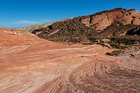 Valley of Fire, Nevada.  The Fire Wave.