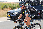 Romain Bardet (FRA) Team DSM during Stage 5 of La Vuelta d'Espana 2021, running 184.4km from Tarancón to Albacete, Spain. 18th August 2021.    <br /> Picture: Luis Angel Gomez/Photogomezsport   Cyclefile<br /> <br /> All photos usage must carry mandatory copyright credit (© Cyclefile   Luis Angel Gomez/Photogomezsport)