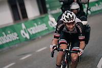 A (futile) late attack by Søren Kragh Andersen (DEN/Sunweb) in the last kilometers<br /> <br /> Stage 3: Oberstammheim > Gansingen (182km)<br /> 82nd Tour de Suisse 2018 (2.UWT)