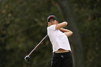 19 October 2007: Stanford Cardinal Angela King during the Stanford Intercollegiate tournament at the Stanford Golf Course in Stanford, CA.