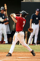 September 15, 2009:  Kavin Keyes, one of many top prospects in action, taking part in the 18U National Team Trials at NC State's Doak Field in Raleigh, NC.  Photo By David Stoner / Four Seam Images