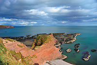 """SC - ABERDEENSHIRE<br /> Hiking traill Auchmithie - Lunan Bay over the """"Red Head"""" starting fromi Arbroath<br /> <br /> Full size: 69,2 MB"""