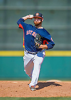 15 March 2016: Houston Astros pitcher Jake Buchanan on the mound during a Spring Training pre-season game against the Washington Nationals at Osceola County Stadium in Kissimmee, Florida. The Astros fell to the Nationals 6-4 in Grapefruit League play. Mandatory Credit: Ed Wolfstein Photo *** RAW (NEF) Image File Available ***