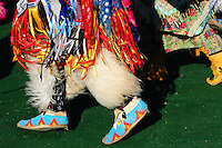 Each summer the Blackfeet Nation holds a pow wow in Browning, Montana on the Blackfeet Reservation. It is a beautiful spectacle of costuming and dancing.
