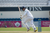 Liam Dawson of Hampshire CCC glances fine during Surrey CCC vs Hampshire CCC, LV Insurance County Championship Group 2 Cricket at the Kia Oval on 1st May 2021
