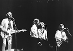 BEE GEES and ANDY GIBB July 1979 Dodger Stadium..© Chris Walter..