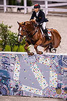 CHN-Zhenqiang Li rides Uncas S during the Jumping Team Qualifier. Tokyo 2020 Olympic Games. Friday 6 August 2021. Copyright Photo: Libby Law Photography