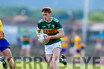 Gavin White Kerry in action against  Clare during the Munster GAA Football Senior Championship semi-final match between Kerry and Clare at Fitzgerald Stadium in Killarney on Sunday.