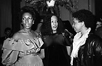 Mary Wilson, Evelyn King and Nonah Hendrix on January 15, 1983 in New York City.