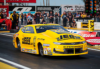 Feb 21, 2020; Chandler, Arizona, USA; NHRA pro stock driver Jeg Coughlin Jr during qualifying for the Arizona Nationals at Wild Horse Pass Motorsports Park. Mandatory Credit: Mark J. Rebilas-USA TODAY Sports