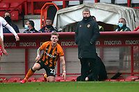 Hull City manager Grant McCann during Stevenage vs Hull City, Emirates FA Cup Football at the Lamex Stadium on 29th November 2020