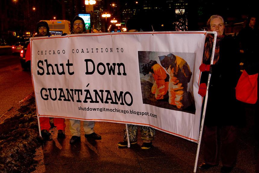 This Guantanamo vigil took place in Chicago, Illinois