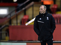 Lincoln City manager Michael Appleton<br /> <br /> Photographer Andrew Vaughan/CameraSport<br /> <br /> EFL Papa John's Trophy - Northern Section - Group E - Lincoln City v Manchester City U21 - Tuesday 17th November 2020 - LNER Stadium - Lincoln<br />  <br /> World Copyright © 2020 CameraSport. All rights reserved. 43 Linden Ave. Countesthorpe. Leicester. England. LE8 5PG - Tel: +44 (0) 116 277 4147 - admin@camerasport.com - www.camerasport.com