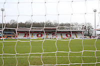 General view of the ground during Stevenage vs Colchester United, Sky Bet EFL League 2 Football at the Lamex Stadium on 31st December 2016