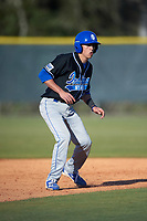 Indiana State Sycamores pinch runner Dominic Bifano (2) during a game against the Boston College Eagles on February 27, 2016 at North Charlotte Regional Park in Port Charlotte, Florida.  Boston College defeated Indiana State 5-3.  (Mike Janes/Four Seam Images)