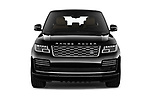 Car photography straight front view of a 2018 Land Rover Range Rover Autobiography Select Doors Door SUV