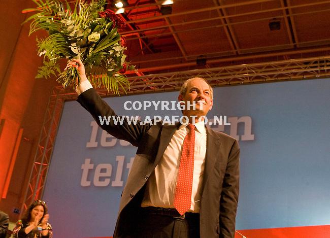 Nijmegen 250410 Job Cohen de nieuwe lijsttrekker van de PVDA<br /> Foto frans Ypma APA-foto