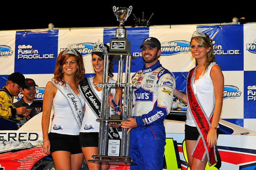 Jun 9, 2010; 11:09:00 PM; Rossburg, OH., USA; The sixth running of the Gillette Fusion ProGlide Prelude to the Dream XVI  Dirt Late Models at the Eldora Speedway.  Mandatory Credit: (thesportswire.net)