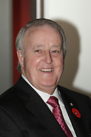Brian Mulroney attend<br />  Kelvin Dushnisky, President of Barrick Gold Corporation, speech to the Canadian Club of Montreal, Monday, November 9, 2015<br /> <br /> As the gold mining industry grapples with one of the most challenging metal price environments in recent memory, Barrick Gold Corporation is responding by fundamentally changing the way it operates. Barrick President Kelvin Dushnisky discuss how the company is transitioning to a decentralized business model and reclaiming the qualities that made it the world's leading gold producer. Known historically for being a lean and nimble company that thinks outside the box while consistently generating wealth for its shareholders, Barrick is well on its way to becoming that company again. Please join us on November 9 to find out how one of Canada's most iconic company's is remaking itself.<br /> <br /> PHOTO : Pierre Roussel - Agence Quebec Presse