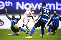 Simone Zaza of Torino FC scores the goal of 0-1 during the Serie A football match between FC Internazionale and Torino FC at stadio San Siro in Milano (Italy), November 22th, 2020. Photo Image Sport / Insidefoto