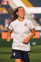 Lauren Cheney (12) of the United States (USA). The United States (USA) women defeated China PR (CHN) 4-1 during an international friendly at PPL Park in Chester, PA, on May 27, 2012.