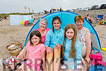 Enjoying the afternoon in Banna beach on Monday.<br /> Front l to r: Siadbh Dunne, Aine Lacey and Caoimhe Dunne.<br /> Back: Catherine and Noreen Lawlor