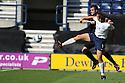 Peter Hartley of Stevenage tangles with Kevin Davies of Preston<br />  - Preston North End v Stevenage - Sky Bet League One - Deepdale, Preston - 14th September 2013. <br /> © Kevin Coleman 2013