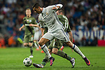 Legia Warszawa's Michal Kopczynski Real Madrid's Cristiano Ronaldo during the match of UEFA Champions League group stage between Real Madrid and Legia de Varsovia at Santiago Bernabeu Stadium in Madrid, Spain. October 18, 2016. (ALTERPHOTOS/Rodrigo Jimenez)