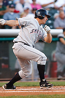 July 8, 2009: Mark Bellhorn of the Colorado Springs Sky Sox, Pacific Cost League Triple A affiliate of the Colorado Rockies, during a game at the Spring Mobile Ballpark in Salt Lake City, UT.  Photo by:  Matthew Sauk/Four Seam Images