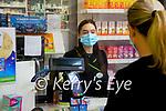 Staff member Sinead Walsh at Lloyds pharmacy, Ashe street, Tralee