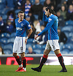 Bilel Mohsni sent off for kicking the ball away as a second booking