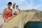 EW Team On Kariba Dam
