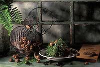 Gastronomie générale / Cuisine générale : Escargots  dans la cabane du jardinier