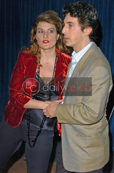 """Nia Vardalos and Alexander Payne<br /> at the Beyond Words """"The Writers Talk"""", Writers Guild Theater, Beverly Hills, CA 02-17-05<br /> <br /> Chris Wolf/DailyCeleb.com 818-249-4998"""