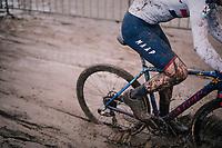 splashy Tom Pidcock (GBR/TPR)<br /> <br /> Superprestige cyclocross in Hoogstraten (BEL) / 2019<br /> Elite Men's Race<br /> <br /> ©kramon
