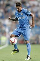 Getafe CF's Damian Suarez during La Liga match. August 19,2018.  *** Local Caption *** © pixathlon<br /> Contact: +49-40-22 63 02 60 , info@pixathlon.de
