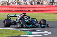 16th July 2021; Silverstone Circuit, Silverstone, Northamptonshire, England; Formula One British Grand Prix,  and Qualifying; Mercedes AMG Petronas F1 Team driver Lewis Hamilton in his Mercedes F1 W12 Mercedes AMG F1 M12