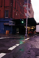 Manhattan's Meat Packing District in the early morning<br />
