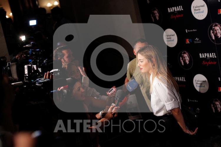 Photocall concierto Raphael en Palacio Real en Madrid, Spain. July 22, 2015. (ALTERPHOTOS/Victor Blanco)